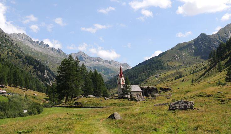 Chapel of Holiy Gost #Prettau #Predoi #RieserfernerAhrn #VedrettediRiesAurina
