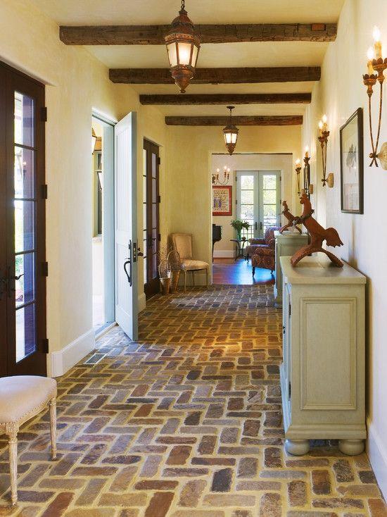 Home Decor Mediterranean Entry. 玄関のインテリアコーディネイト実例
