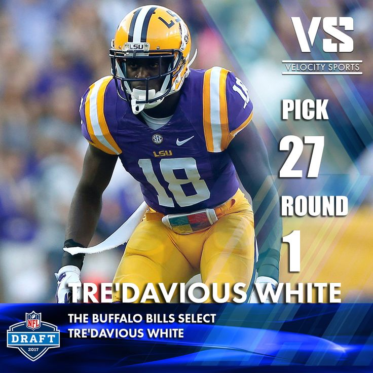 The Buffalo Bills select  Tre'Davious White .. .. .. #DraftDay #NFL #NFLdraft #NFLdraft2017 #football #Sports #Bills #VelocitySports #BuffaloBills #Buffalo