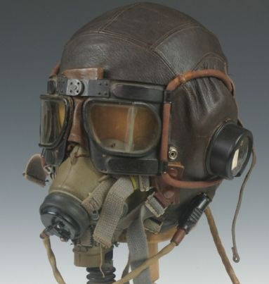 WWII RAF Headgear Collection. Very Steampunk!