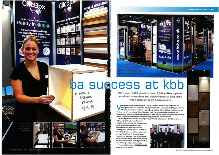 BA Components. KBB Show.