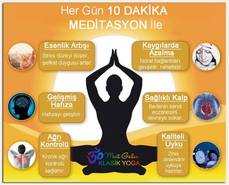 10 dakika meditasyon