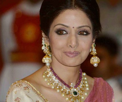 Sridevi Receives Padma Shri | Jewellery Designs