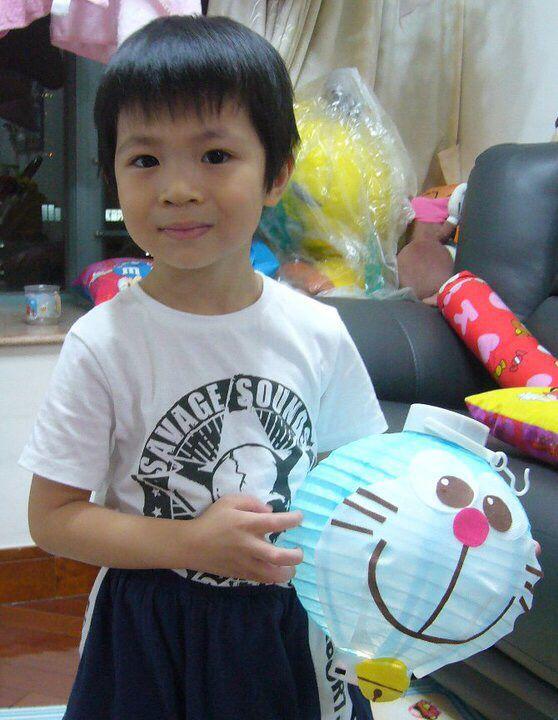 Doraemon Paper Lantern for nephew