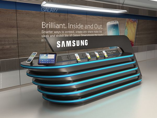 Samsung on Behance