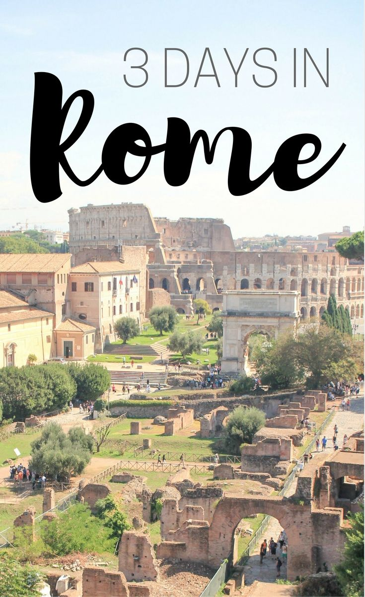 What to do on your first trip to Rome