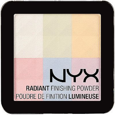 Drugstore dupe for Bobbi Brown Brightening Finishing Powder:  http://www.makeupalley.com/product/showreview.asp/ItemId=168023/Radiant-Finishing-Powder/NYX/Pressed-Powders  #MUADupeDay!