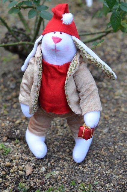 Elena Take hobby: Рождественский зайчик