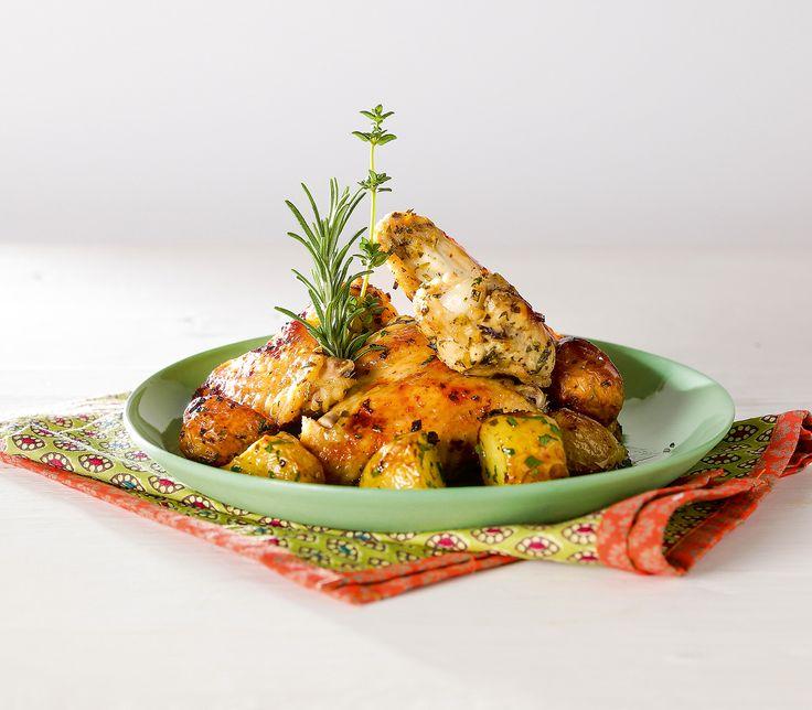 Pouletflügeli sind eine beliebte Speise bei Gross und Klein. Diese Variation ist besonders schnell auf den Tisch gezaubert.