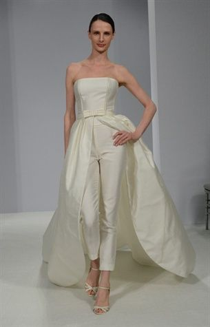 Rosa Clara pants gown - not for me, but also awesome!
