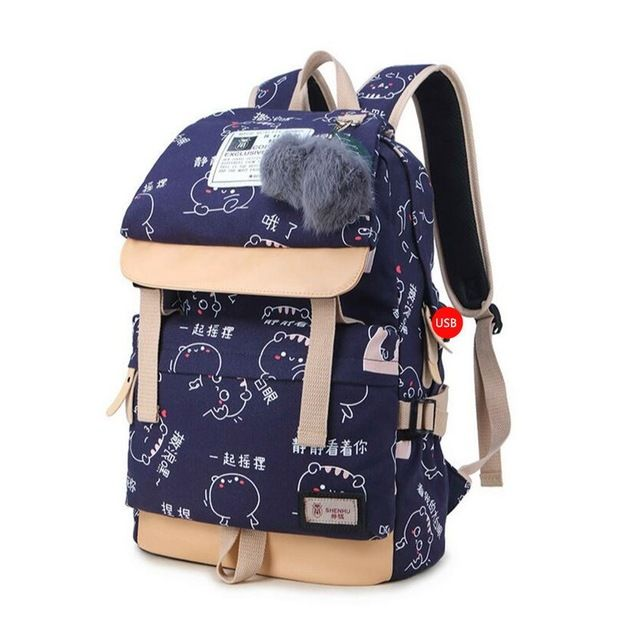 152ee6cfd6c Bts bt21 backpack (3 colors) in 2019 | k-pop❤❤❤❤❤❤❤❤ | Cute ...