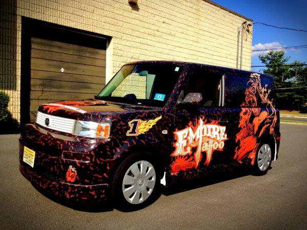Toyota Scion xB Vehicle Wraps