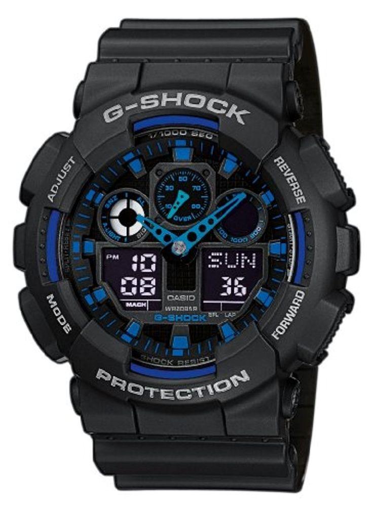 Casio G-Shock Montre Homme GA-100-1A2ER 2017 #2017, #Montresbracelet http://montre-luxe-homme.fr/casio-g-shock-montre-homme-ga-100-1a2er-2017/