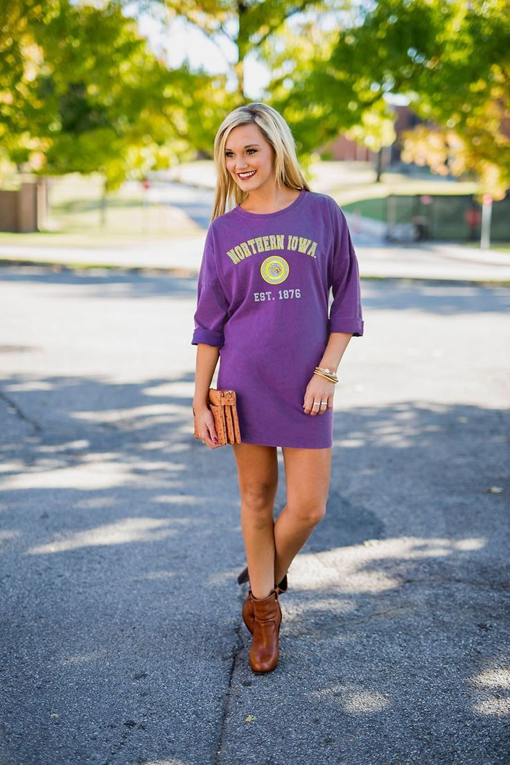 University of Northern Iowa Perfect To A Tee Vintage Wash Tunic