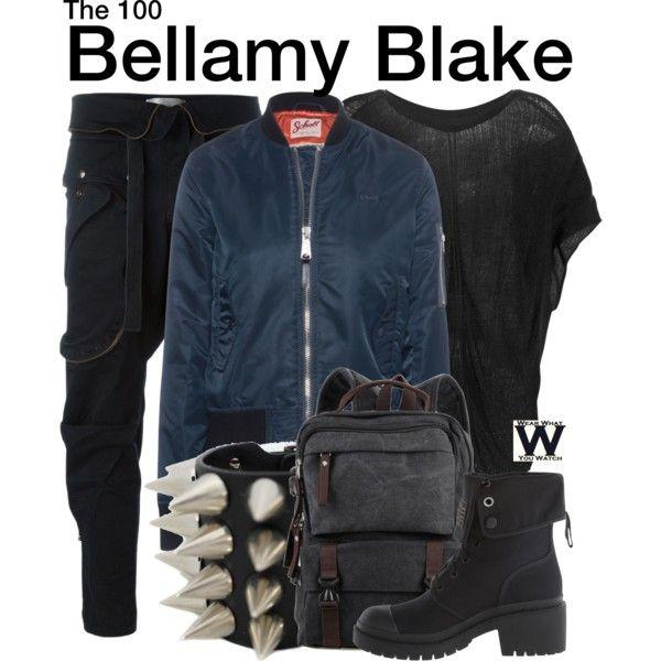 Inspired by Bob Morley as Bellamy Blake on The 100