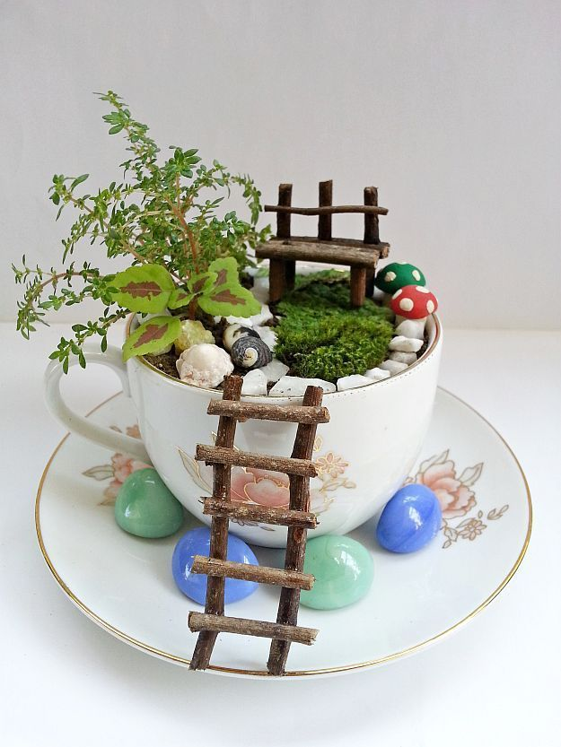 DIY Fairy Garden To Create A Little Zen In Your Busy Life