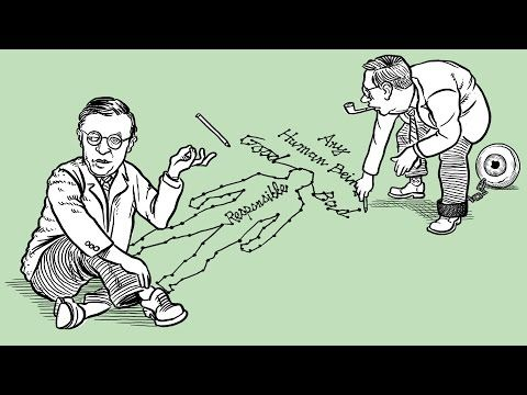 What is the Self? Watch Philosophy Animations Narrated by Stephen Fry on Sartre, Descartes & More | Open Culture