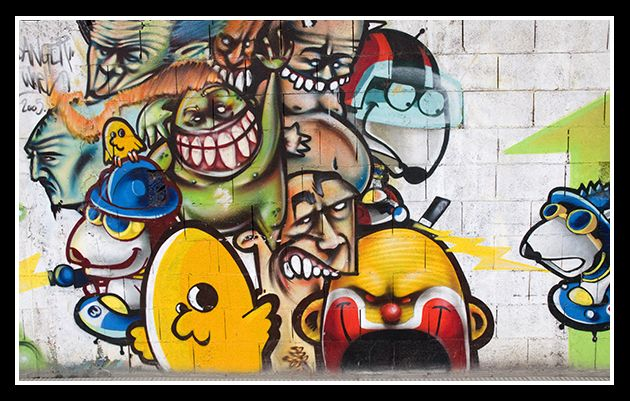 Imagenes de graffitis chidos 3