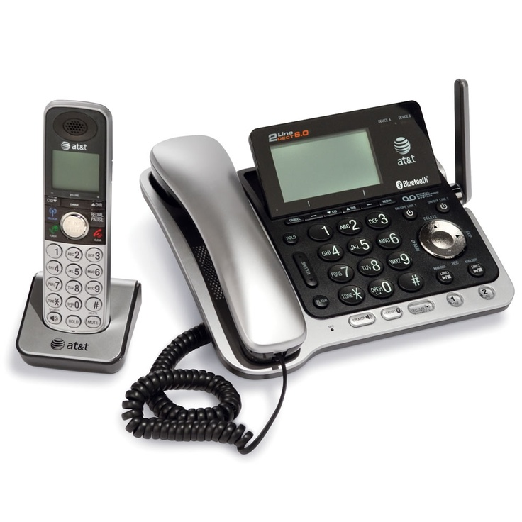 The Best Multi Handset Cordless Telephone - Hammacher Schlemmer - This is The Best multi-handset cordless phone because it allowed the clearest conversations and was easiest to set up in tests conducted by the Hammacher Schlemmer Institute.
