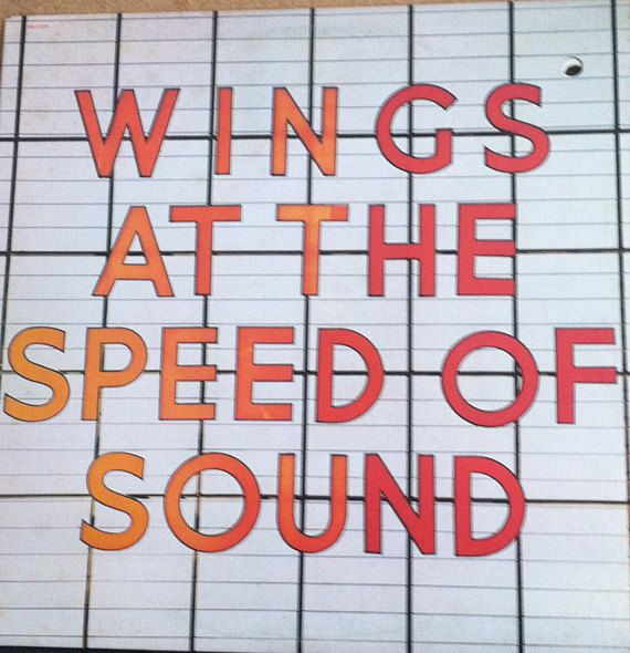 Paul Mccartney Wings At The Speed Of Sound Vinyl Rock Record