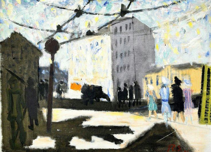 """Ragnar Sandberg- Street in """"Majorna"""" (Gothenburg)"""