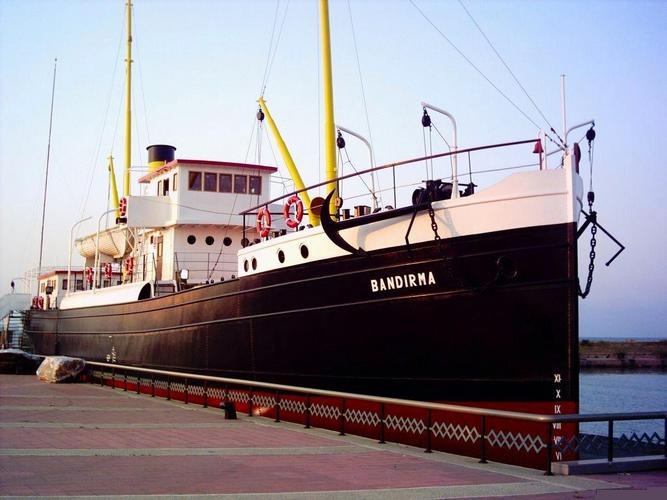 Turkey, Samsun --Bandırma Ship The city where Independence War Begun.