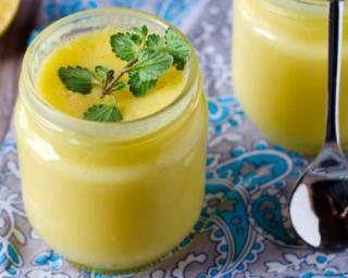 Crème légère au citron sans sucre