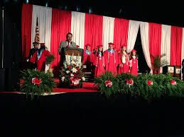 High school commencement stage decorations - Google Search