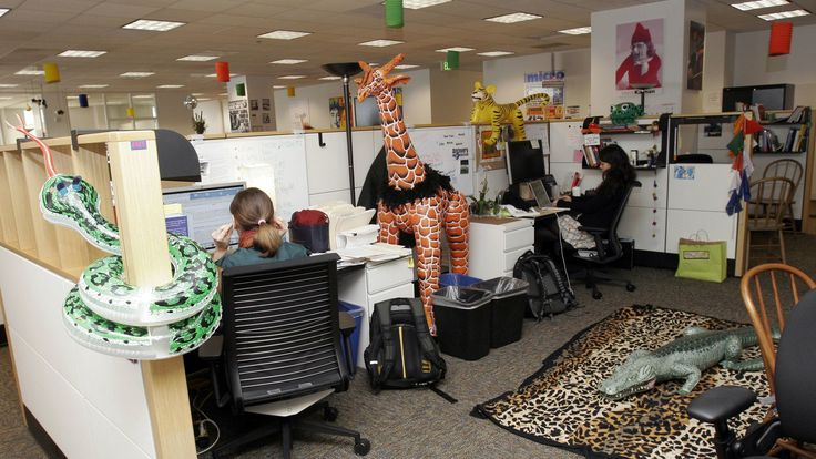 After years of intensive analysis, Google discovers the key to good teamwork is being nice ... Job ... Google San Francisco office