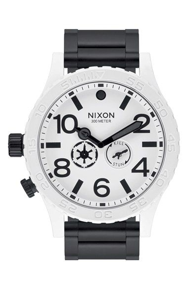 Nixon 'Stormtrooper' Bracelet Watch, 51mm