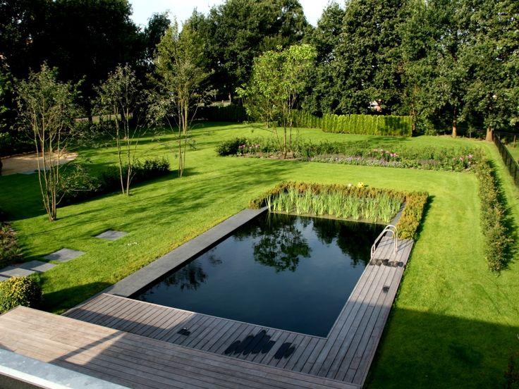 17 beste idee n over zwembad vijver op pinterest natuurlijke zwembaden natuur zwembaden en - Klein natuurlijk zwembad ...