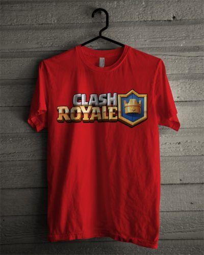 Kaos Clash Royale Logo - BikinKaosSatuan