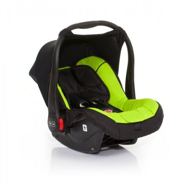 ABC Design Fotelik Risus 0-13 kg czarny/zielony | MALL.PL