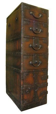 Antique peddler's box...: