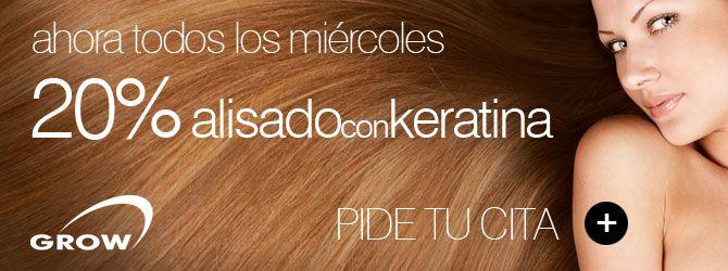 Espectacular la #keratina de GROW en #Alicante y además a unos precios super razonables !!!