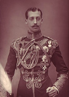 Prince Albert Victor, Duke of Clarence and Avondale, son of King Edward VII and grandson of Queen Victoria.  Some authors have argued that he was the serial killer known as Jack the Ripper.