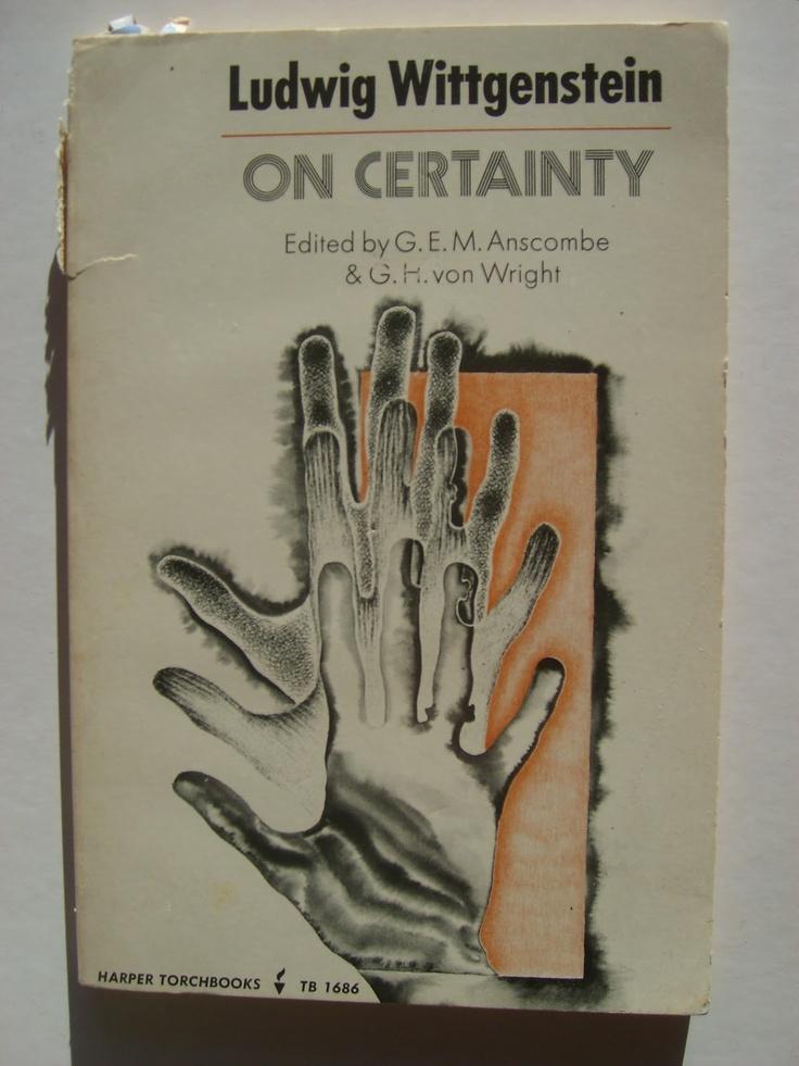 "Wittgenstein's ""On Certainty"".  Posthumously published.  Amazing."
