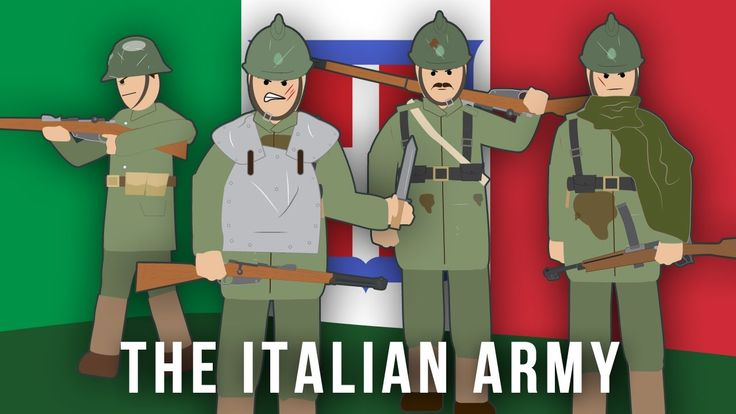 Italian army WW1: By 1912 the Italian army was 300,000 strong, but there was a shortage of experienced NCOs and trained officers.