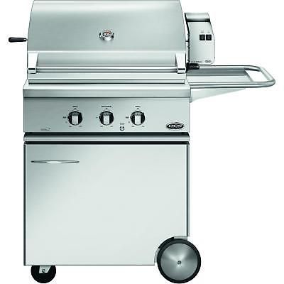 DCS BH1-30R-L-CSS-30 Traditional 30-Inch Propane Gas Grill On CSS Cart with Roti
