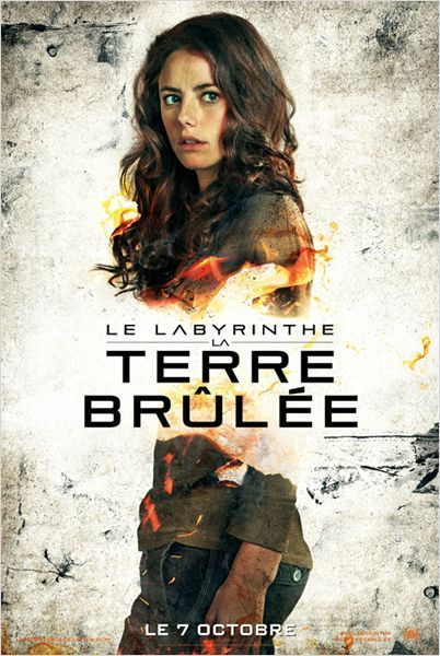 Le Labyrinthe : La Terre brûlée : Affiche