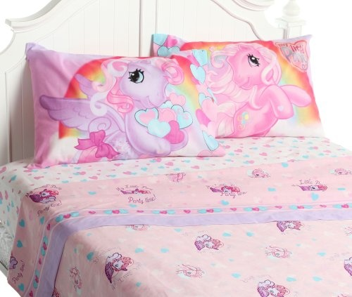 My Little Pony Pony Party Full Sheet Set From My Little Pony