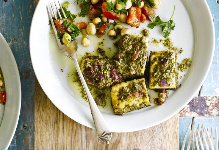 Paneer is such a big part of Punjabi cuisine and on every menu. This recipe is inspired by a popular herby marinade that is often used in tandoori-style foods.