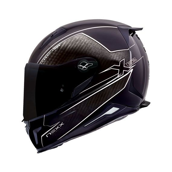 """XR2_CARBON_PURE_White_NEXX_USA """"Carbon Motorcycle helmets from NEXX-USA."""""""