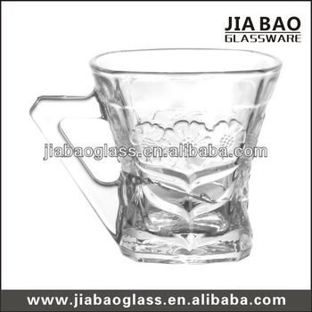 5OZ clear glass coffee mug, cheap coffee mugs, cheap glass mug