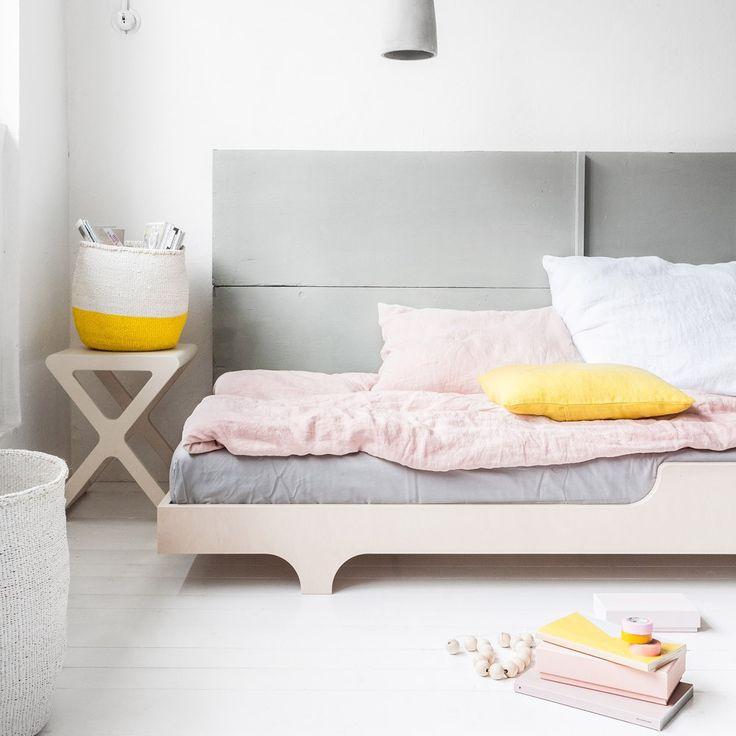 Rafa Kids Single Bed  More: http://en.smallable.com/single-bed-natural-rafa-kids-52418.html