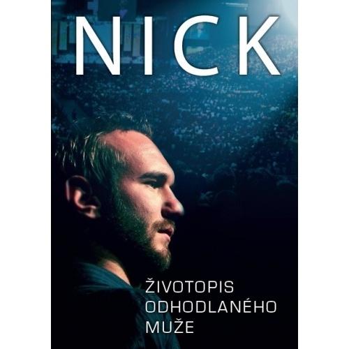 DVD Nick - Život odhodlaného muže - Nick Vujičič - obal - www.moudreknihy.cz
