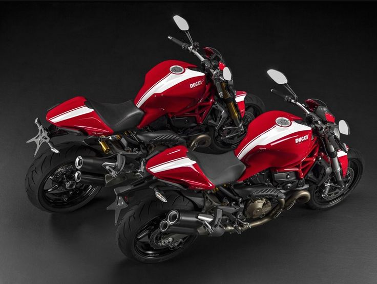 Striped Monster. 2015 Ducati 1299 Panigale, Multistrada, Diavel Titanium. Read all about them here: http://motorbikewriter.com/ducati-unveils-2015-panigale/