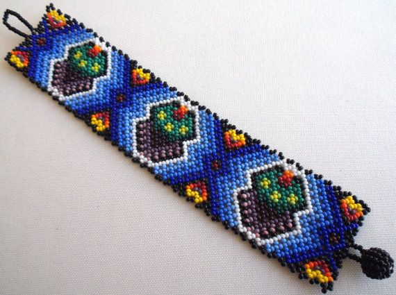 RESERVED FOR GODDESSSHAKTI  Mexican Huichol Beaded by Aramara