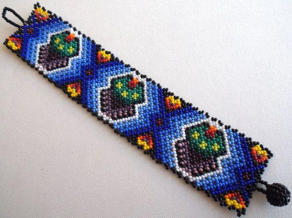 RESERVED FOR GODDESSSHAKTI  Mexican Huichol Beaded by Aramara