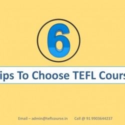 6 Tips to Choose #TEFL Course in India